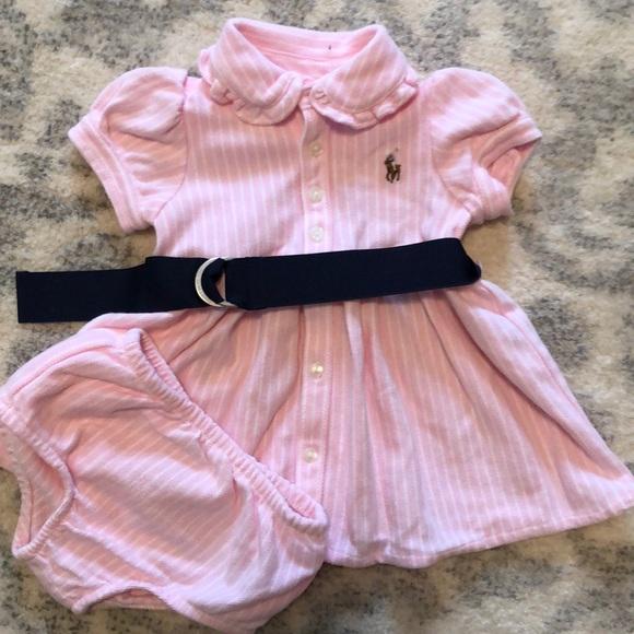 731e78c0 Baby Girl Ralph Lauren Dress and Bottoms